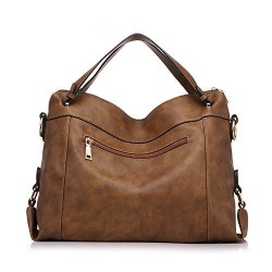Handbags for Women Large Capacity Purse PU Leather Office Shoulder Bag