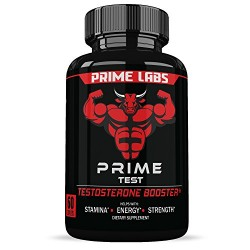 Labs Men's Testosterone Booster (60 Caplets) - Natural Stamina, Endurance and Strength Booster -