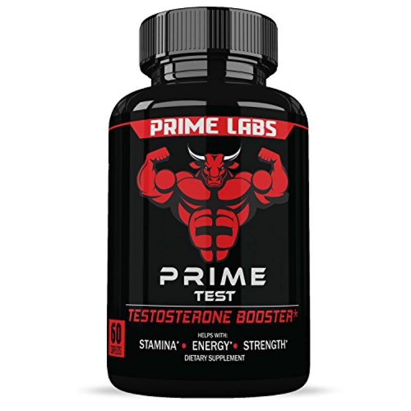 Prime Labs Men's Testosterone Booster (60 Caplets) - Natural Stamina