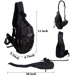 Military Sport Pack Shoulder Sling Backpack Men Women Chest Gym Bag