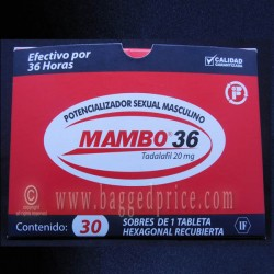 WHOLESALE Mambo 36 Extreme #1 Sexual Male Enhancement Pills 100% ORIGINAL (Pack of 30 pills)