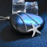 ANFASNI New Silver Color Starfish Bracelet & Bangle Adjustable Pulseras Mujer Charm Bracelet For Women Bridal Wedding Jewelry