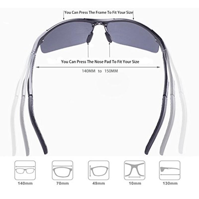 062c0f8ae9 ATTCL Men s HOT Fashion Driving Polarized Sunglasses for Men Al-Mg Metal  Frame Ultra Light