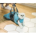 Cinf Cat Pet Supply Grooming Bag Restraint Bag Cats Nail Clipping Cleaning Grooming Bag