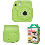 Fujifilm Instax Mini 9 Instant Camera - Smokey White