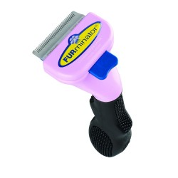 Furminator Short or Long Hair deShedding Tool for Cats