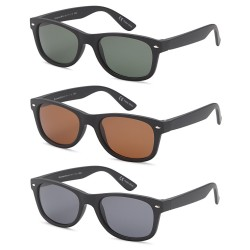 092f36e6425 GAMMA RAY CHEATERS Best Value Polarized UV400 Classic Style Sunglasses with  Mirror Lens and Multi Pack