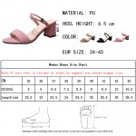 Lucyever 2018 Summer Fashion PU Leather Women High Heels Sandals Concise Solid Flip Flops Ankle Strap Casual Shoes Woman