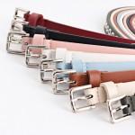 New Women's belt black hollow rivets woman waist belts leather luxury brand Slimming belt woman Feminine strap cinturon N097