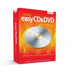 Roxio Easy CD and DVD Burning and Video Capture for PC