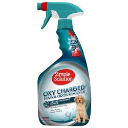 Simple Solution Oxy Charged Pet Stain and Odor Remover, Made in USA