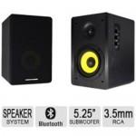 Thonet & Vander KURBIS BT 340 Watt Bluetooth Speaker and Woofer Pair